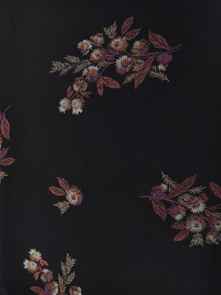 ANTIQUE FLOWER VELVET - 740 F10 N0