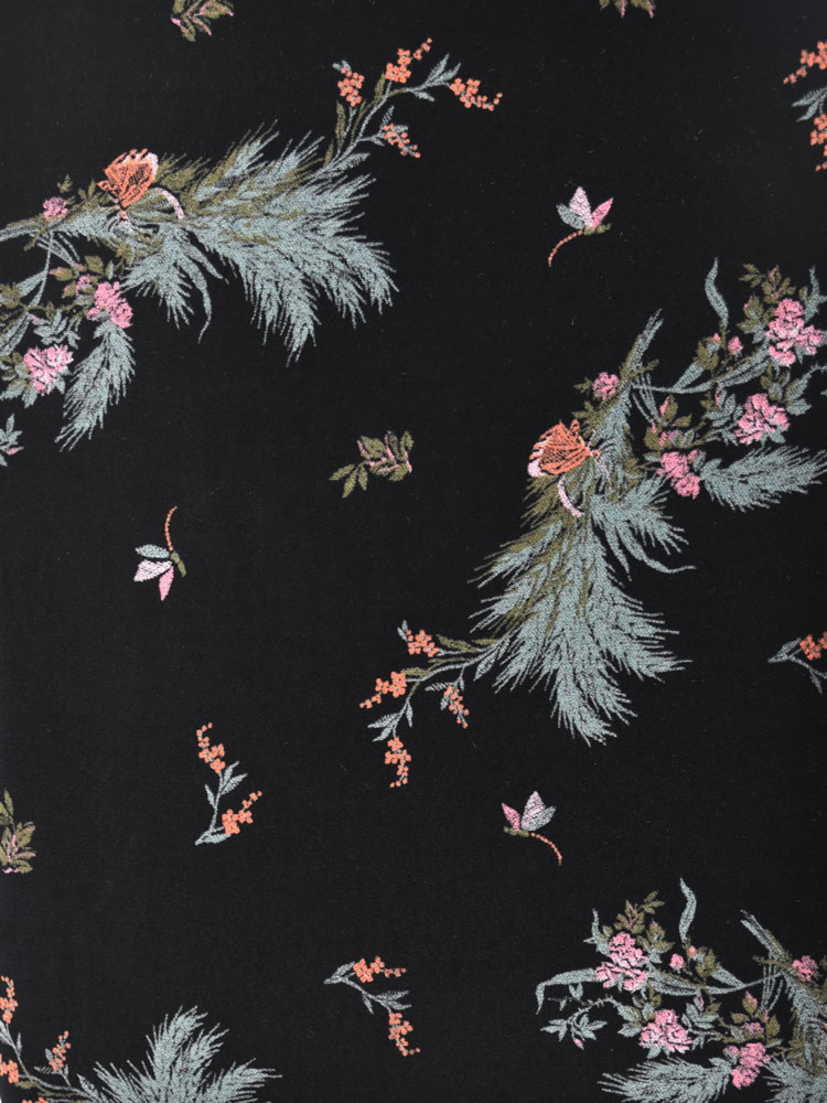 ANTIQUE FLOWER VELVET - 740 F08 N0
