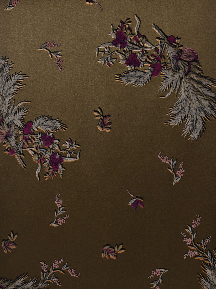 ANTIQUE FLOWER VELVET - 740 F12 N0
