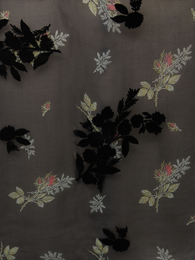 ANTIQUE FLOWER VELVET - L31 F04 LV