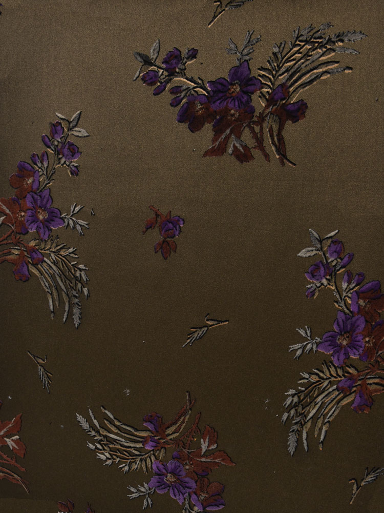 ANTIQUE FLOWER VELVET - 740 F13 N0
