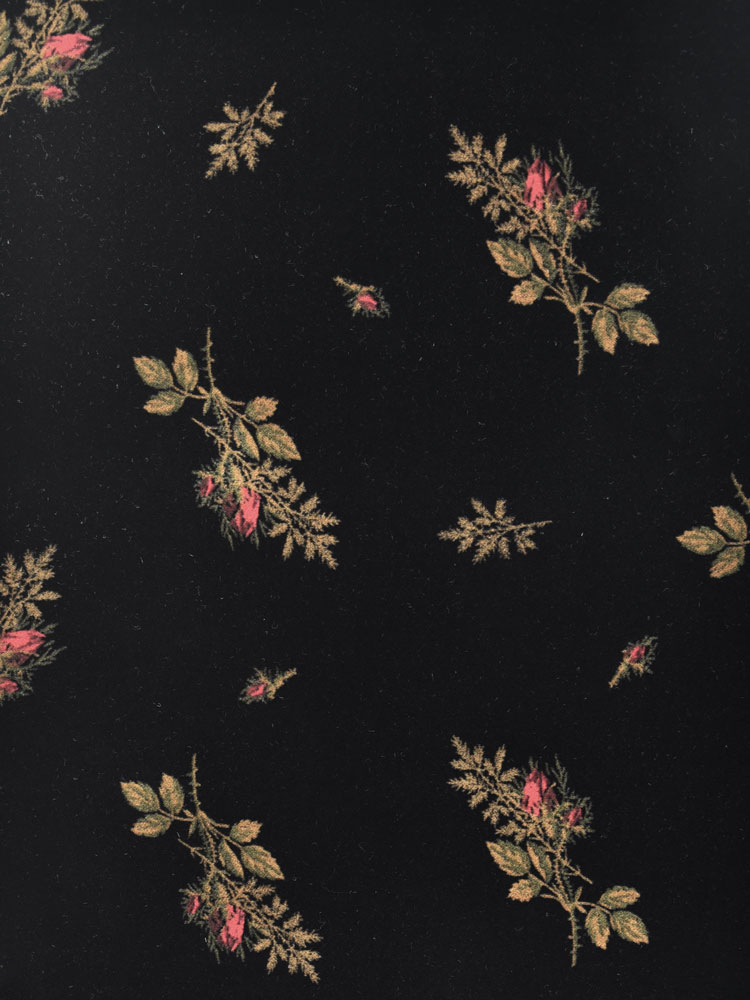ANTIQUE FLOWER VELVET - 740 FO7 N0
