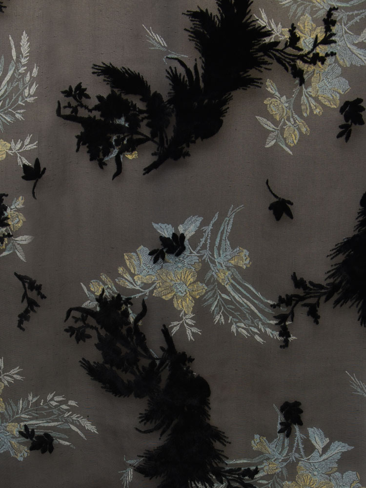 ANTIQUE FLOWER VELVET - L31 F05 LV