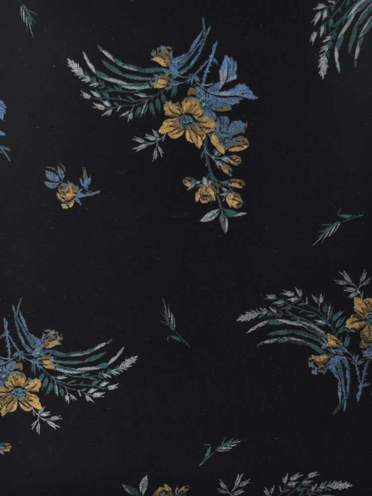 ANTIQUE FLOWER VELVET - 740 F09 N0
