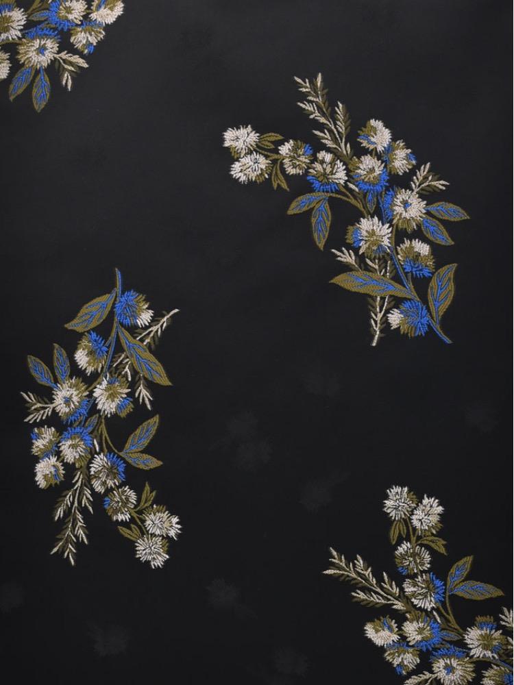ANTIQUE FLOWER VISCOSE - T15 000 A0