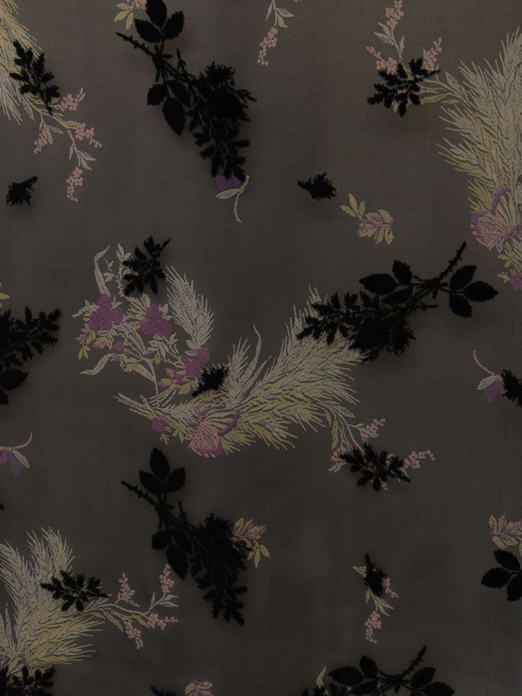 ANTIQUE FLOWER VELVET - L31 F06 LV